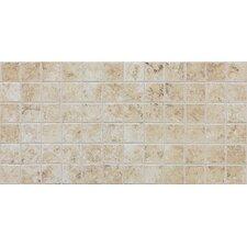 "Fidenza 2"" x 2"" Ceramic Mosaic Tile in Bianco"