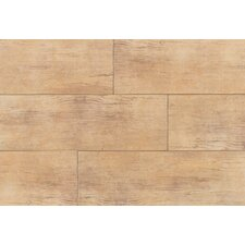 Timber Glen 4'' x 24'' Porcelain Wood Tile in Hickory