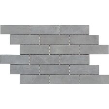 "Concrete Connection 2"" x 6"" Porcelain Mosaic Tile in Steel Structure"