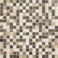 "Stone Radiance 0.63"" x 0.63"" Slate Mosaic Tile in Multi"