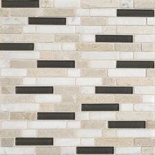 Stone Radiance Random Sized Slate Mosaic Tile in Kinetic Khaki