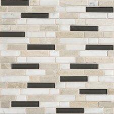 Stone Radiance Random Sized Slate Mosaic Tile in Kinetic Khaki