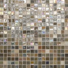 "City Lights 0.5"" x 0.5"" Glass Mosaic Tile in Barcelona"