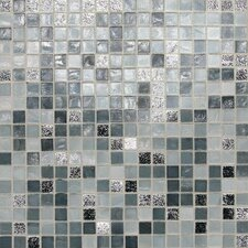 "City Lights 0.5"" x 0.5"" Glass Mosaic Tile in London"