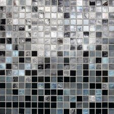 "City Lights 0.5"" x 0.5"" Glass Mosaic Tile in Manhattan"