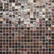 """City Lights 0.5"""" x 0.5"""" Glass Mosaic Tile in Monte Carlo"""