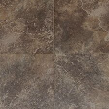 Continental Slate 12'' x 12'' Porcelain Field Tile in Moroccan Brown