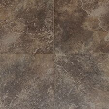 Continental Slate 18'' x 18'' Porcelain Field Tile in Moroccan Brown