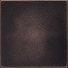 Ion 4.25'' x 4.25'' Metal Field Tile in Oil Rubbed Bronze