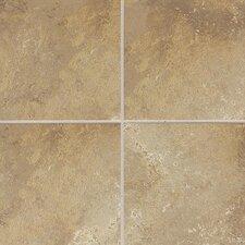 Sandalo 12'' x 12'' Ceramic Field Tile in Raffia Noce