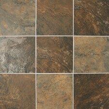 Franciscan Slate 17.75'' x 17.75'' Porcelain Field Tile in Terrain Marrone