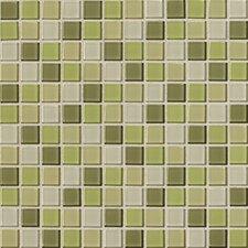 """Isis 1"""" x 1"""" Ceramic Mosaic Tile in Kiwi Blend"""