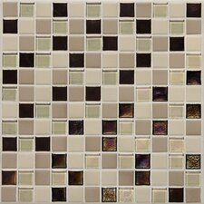 "Keystones Blends 1"" x 1"" Porcelain Mosaic Tile in Sunset Cove"