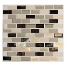 "Keystones Blends 1"" x 2"" Porcelain Mosaic Tile in Sunset Cove"