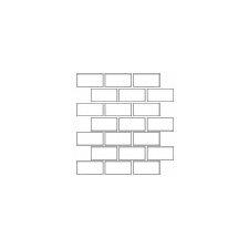 "Rittenhouse Square 2"" x 4"" Ceramic Subway Tile in White"