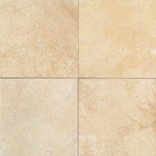 Florenza 12''x 12'' Porcelain Field Tile in Sabbia