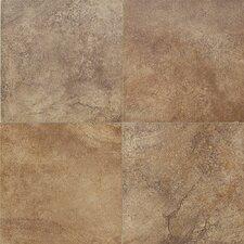 "Florenza 24"" x 24"" Porcelain Field Tile in Brun"