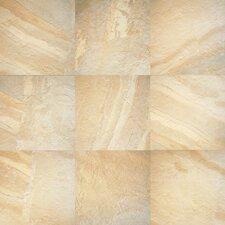 Ayers Rock 6.5'' x 6.5'' Porcelain Field Tile in Solar Summit