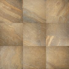 Ayers Rock 20'' x 20'' Glazed Porcelain Field Tile in Bronzed Beacon