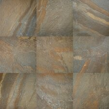 "Ayers Rock 13"" x 20"" Porcelain Field Tile in Rustic Remnant"