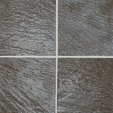 """Ages 6"""" x 6"""" Metal Field Tile in Clefted Pewter"""