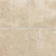"""Stratford Place 18"""" x 18"""" Ceramic Field Tile in Alabaster Sands"""