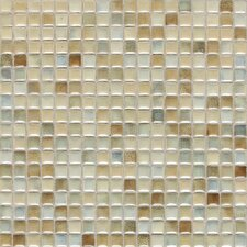 "Fashion Accents 0.63"" x 0.63"" Glass Mosaic Tile in Sand"