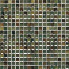 "Fashion Accents 0.63"" x 0.63"" Glass Mosaic Tile in Meadow"