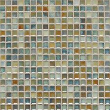 "Fashion Accents 0.63"" x 0.63"" Glass Mosaic Tile in Lake"