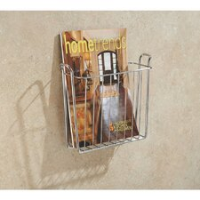 Classico Wallmount Newspaper and Magazine Rack