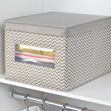 Chevron Fabric Closet and Dresser Drawer Storage Organizer