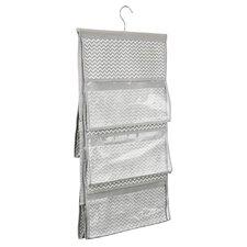 "Chevron 16.54"" Deep Fabric Hanging Closet Storage Organizer"