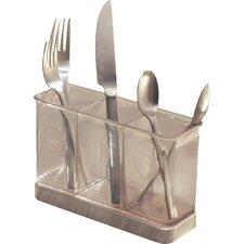 Forma 3 Compartment Utensil Spatula Silverware Holder