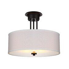Lexington 2 Light Semi Flush Mount