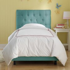 Tufted Premier Microsuede Upholstered Bed