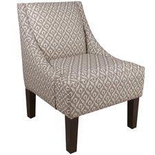 Clover Swoop Arm Chair