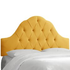Arched Upholstered Headboard