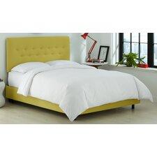 Duck Button Platform Bed