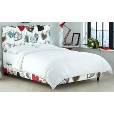 Cheberell French Seam Platform Bed