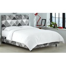 Nicolas Upholstered Panel Bed