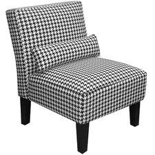 Berne Fabric Armless Slipper Chair