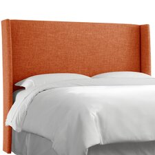 Polyester Upholstered Wingback Headboard