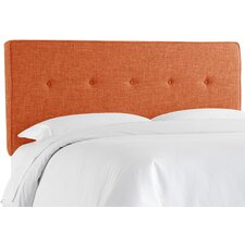 Tufted Polyester Upholstered Panel Headboard