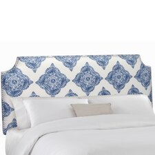 Notched Upholstered Headboard