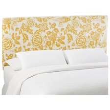 Slip Cover Canary Cotton Upholstered Headboard