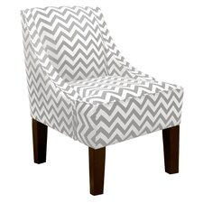 Zig Zag Swoop Arm Chair