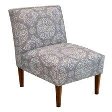 Jakarta Fabric Armless Chair
