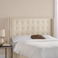 Chambers Nail Button Tufted Upholstered Headboard