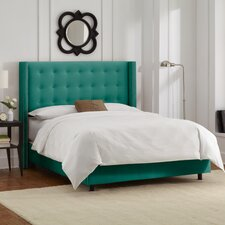 Regal Wingback Panel Bed