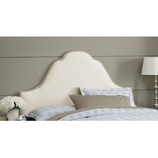 Shantung High Arch Upholstered Headboard